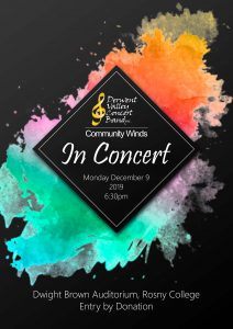 Derwent Valley Community Winds in Concert @ Rosny College Dwight Brown Auditorium