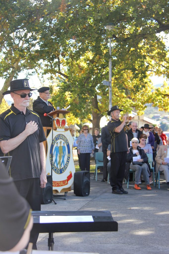 ANZAC Day 2021 @ New Norfolk cenataph